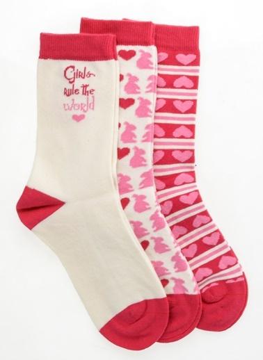 Pixter&Bro 3'lü Çorap